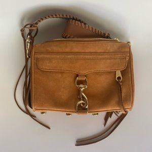 REBECCA MINKOFF Suede Mac Bag, limited edition